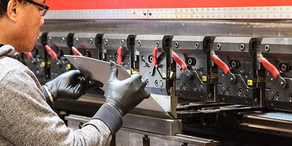 Full-service precision sheet metal capabilities -