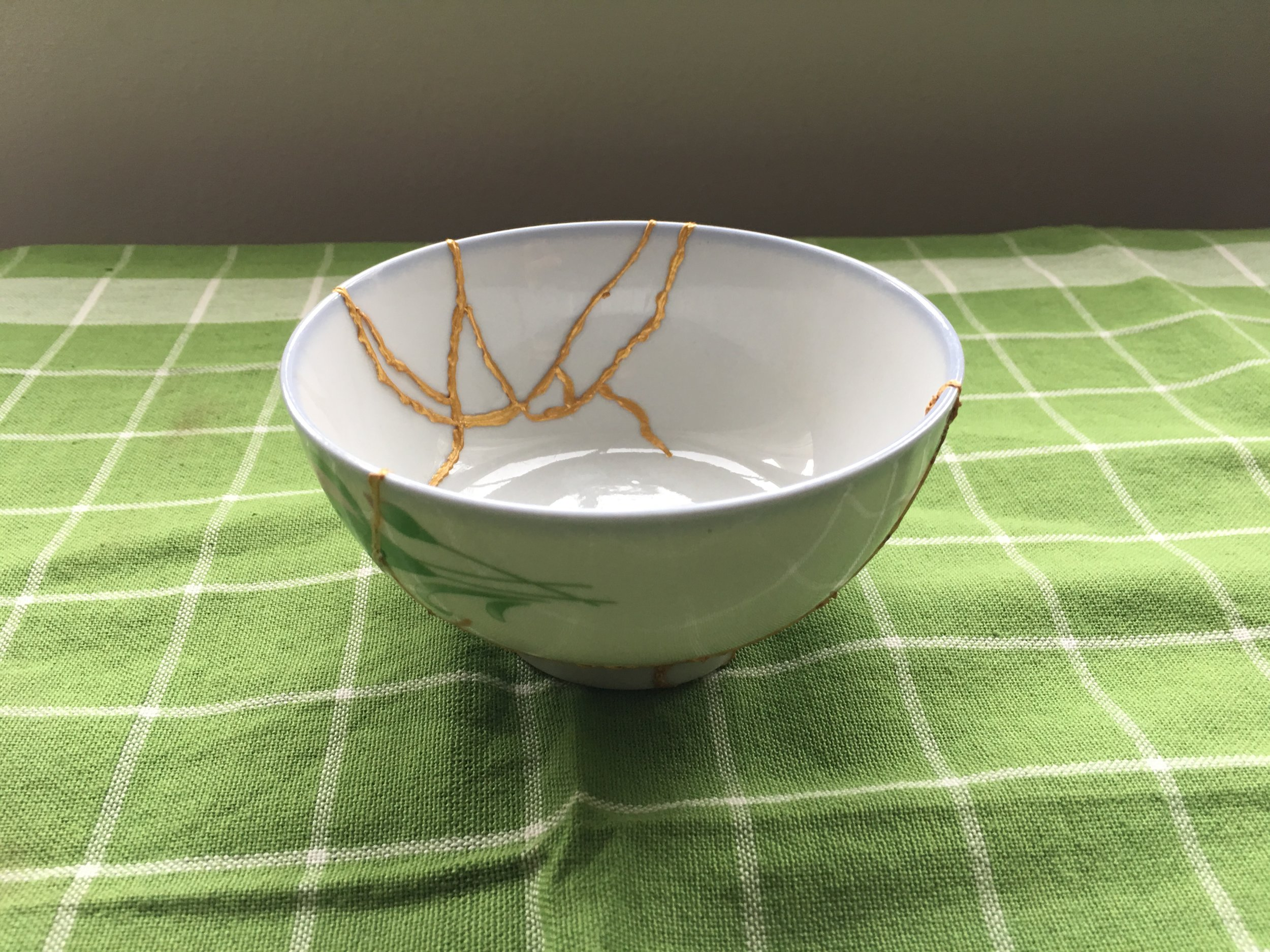 Kintsugi Bowl: The Art of Precious Scars