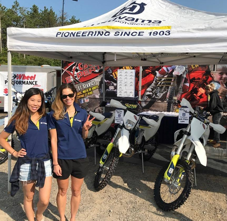 Babes in the Dirt Bytown Motorcycle Association