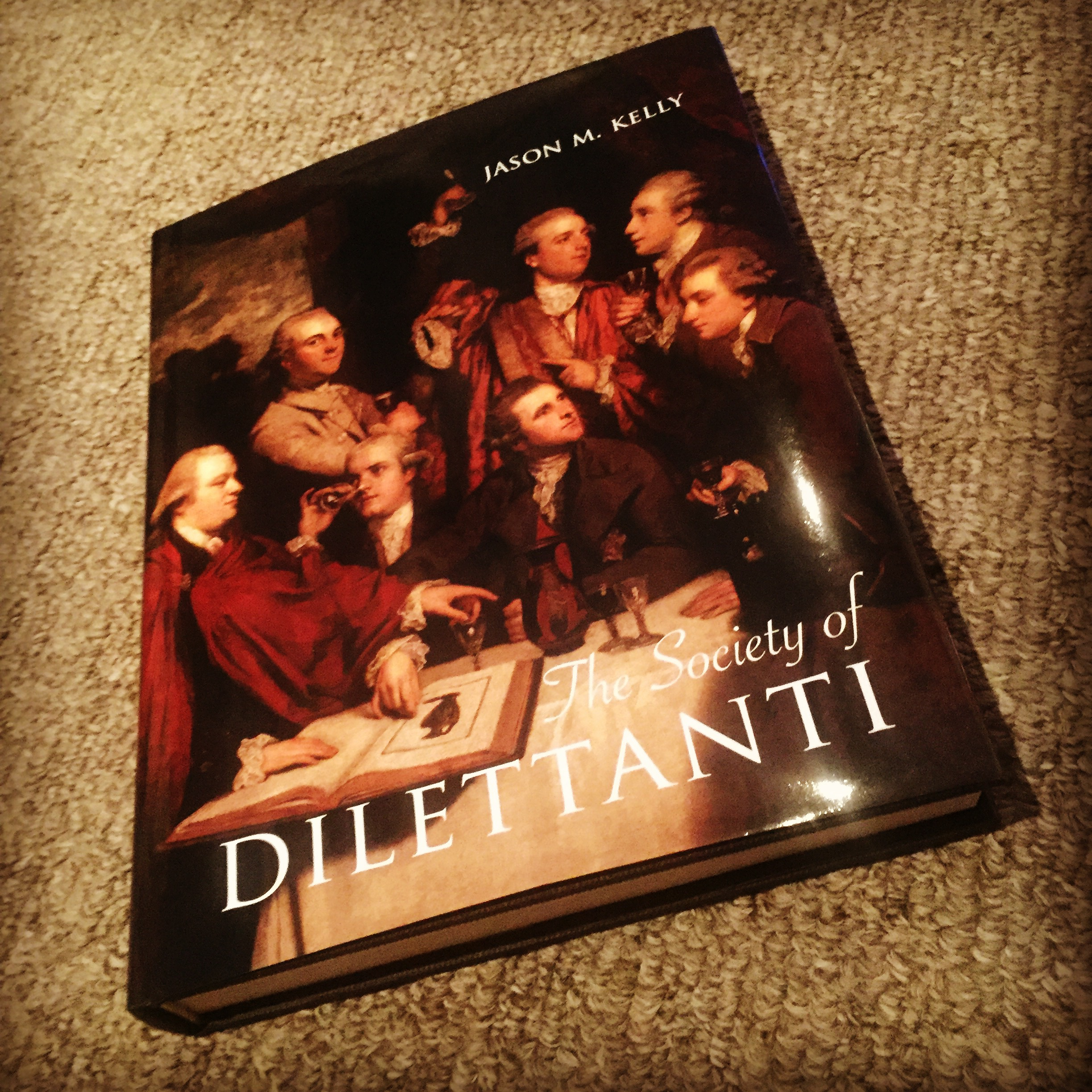 Society of Dilettanti Book Cover