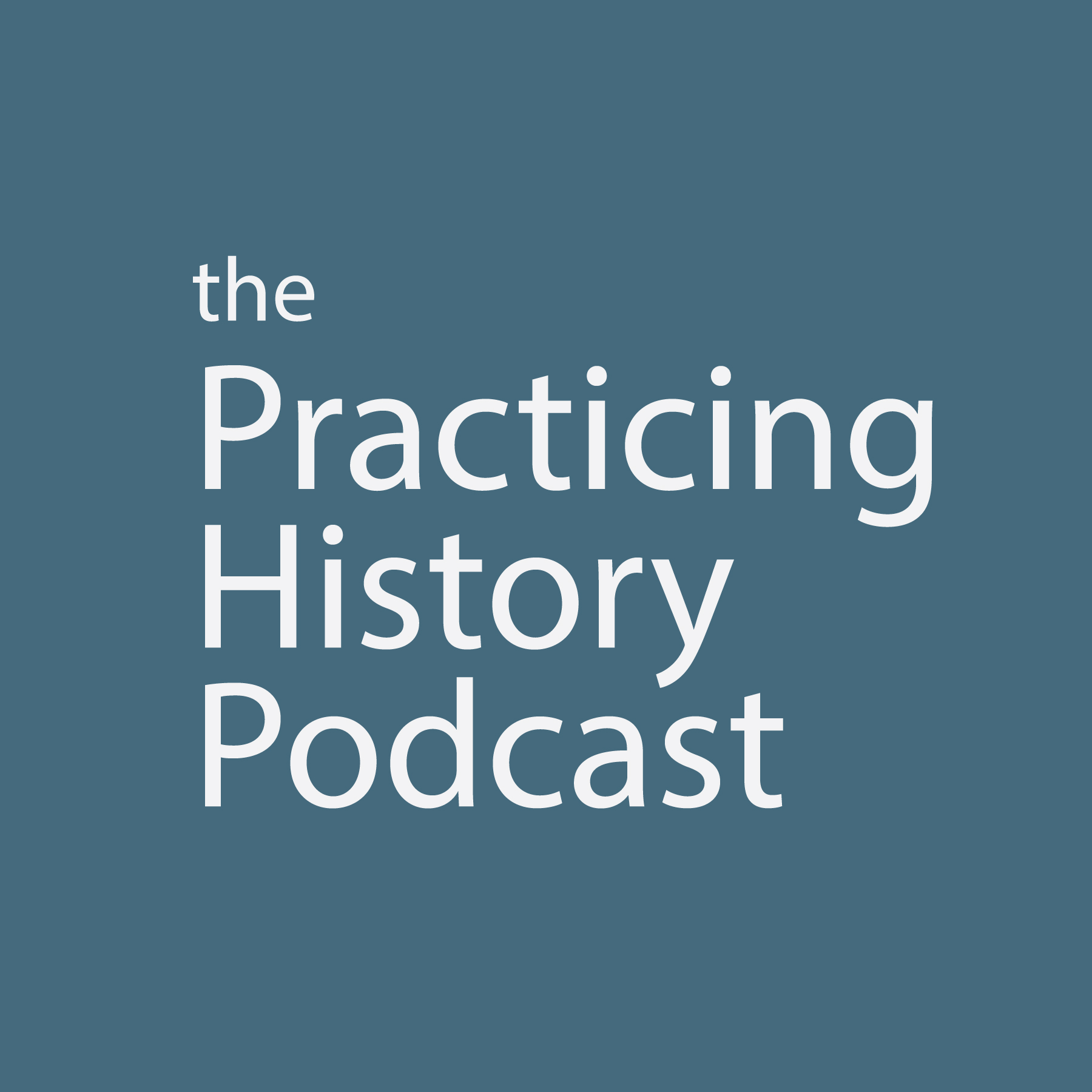 Practicing History Podcast Logo
