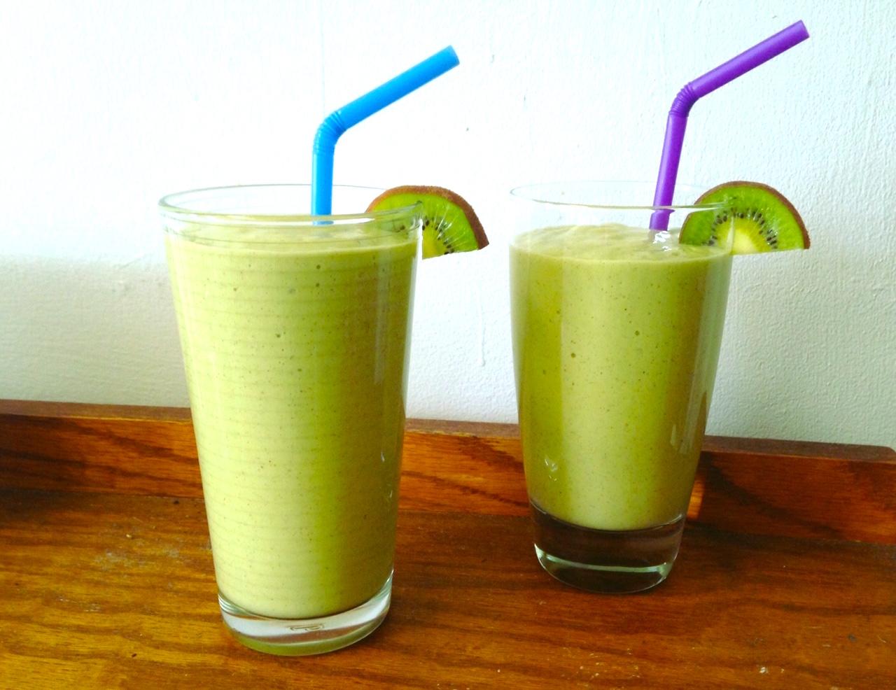 image-1.jpgMango, Kiwi, & Avocado Smoothie Green Smoothie —Vegan — Best Vibes Ever