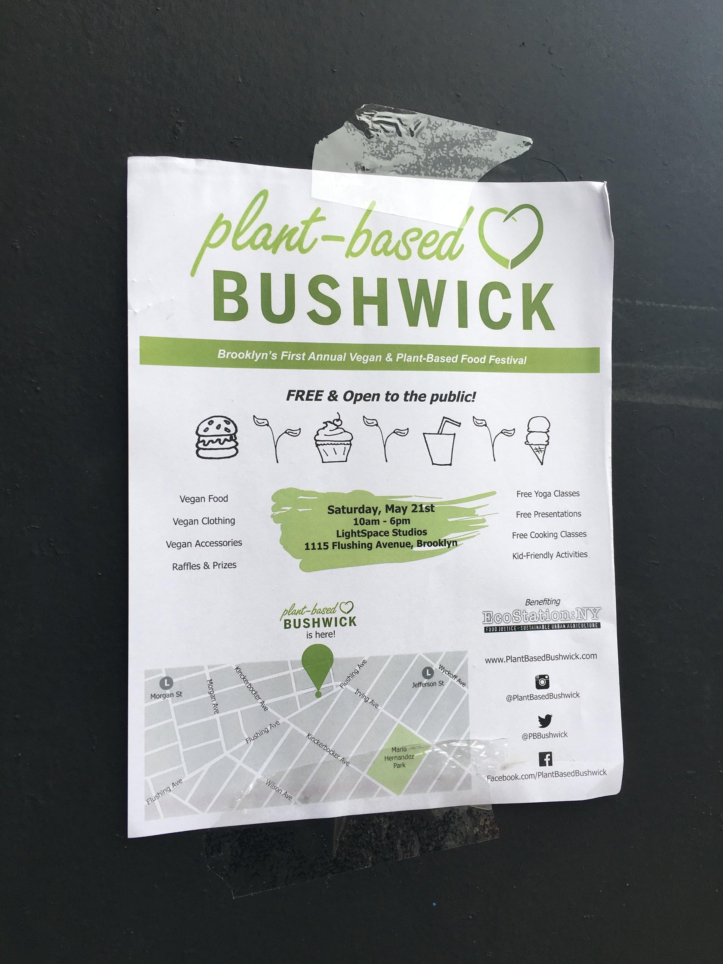 Plant Based Bushwick - Best Vibes Ever