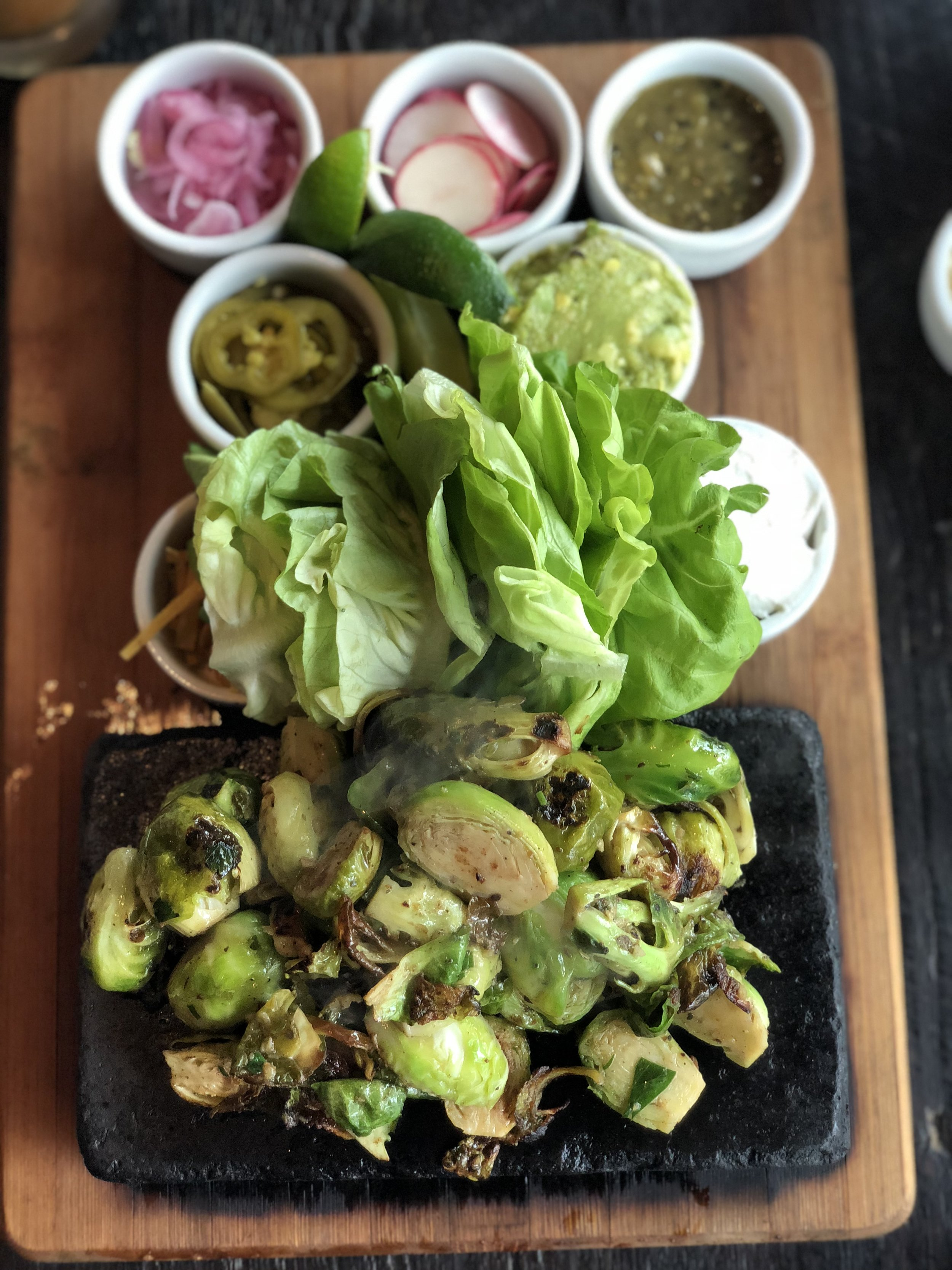 Brussels Sprouts Tacos  - Best Vibes Ever