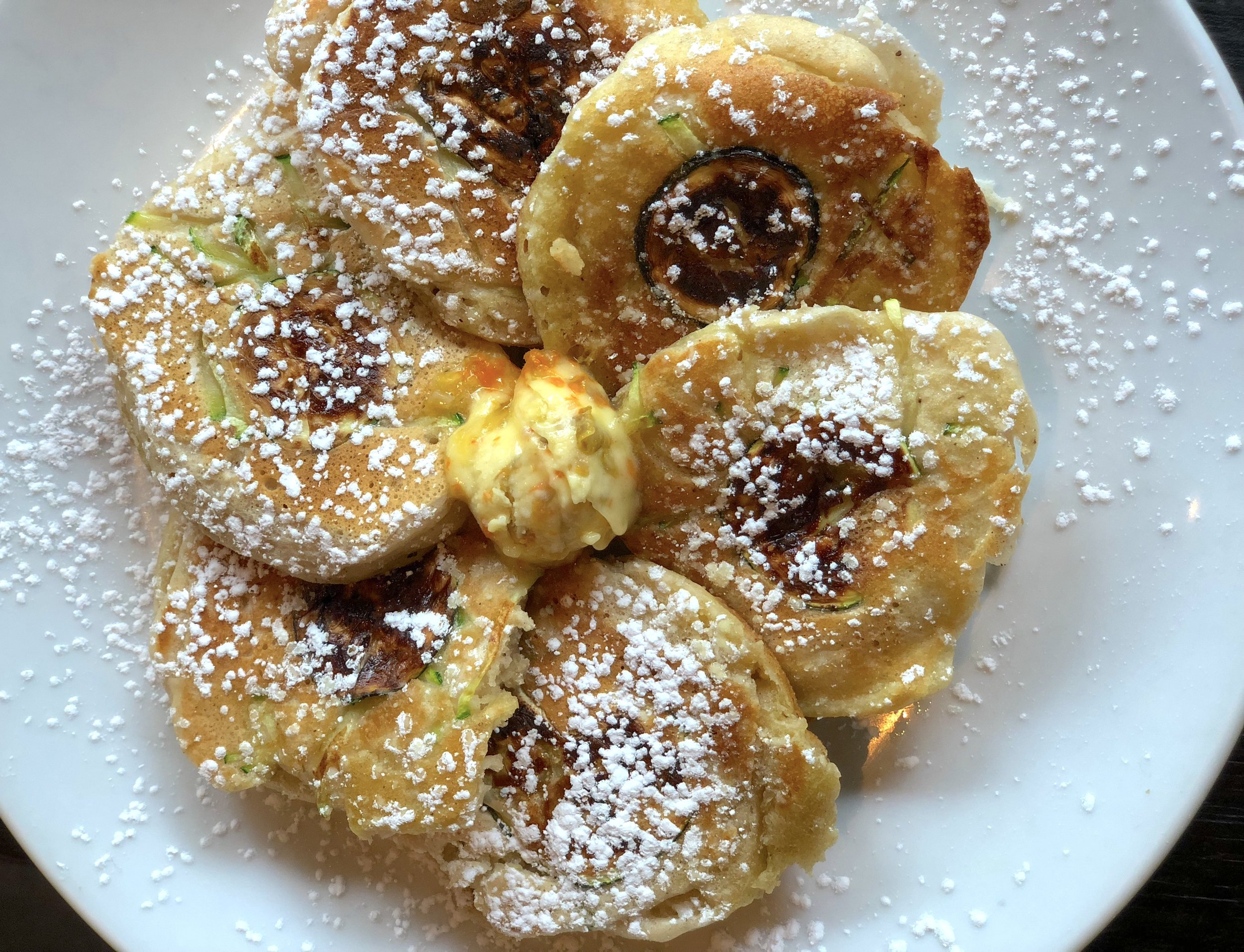 Dirt Candy Zucchini Pancakes - Best Vibes Ever