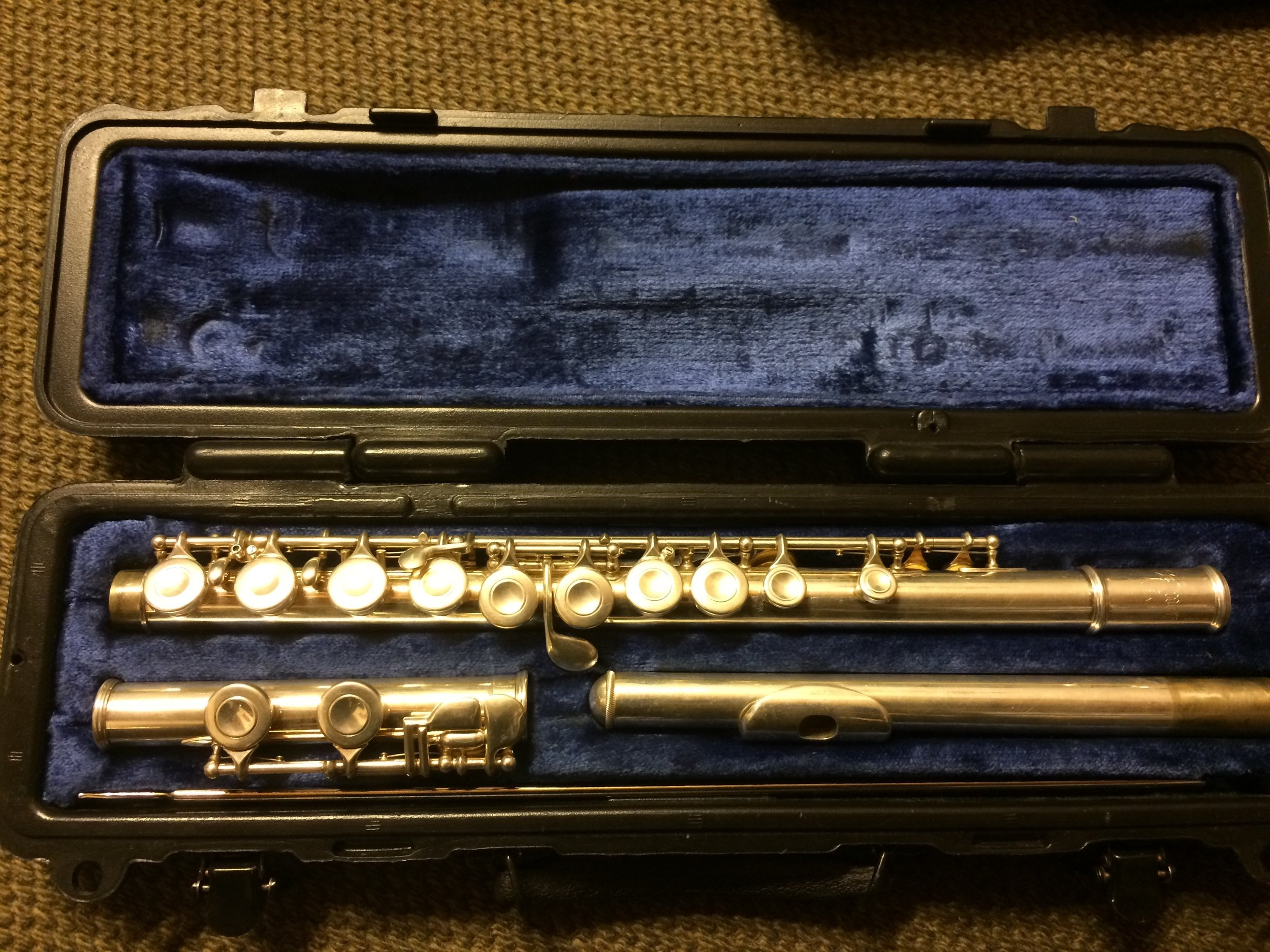 Selmer Flute with case