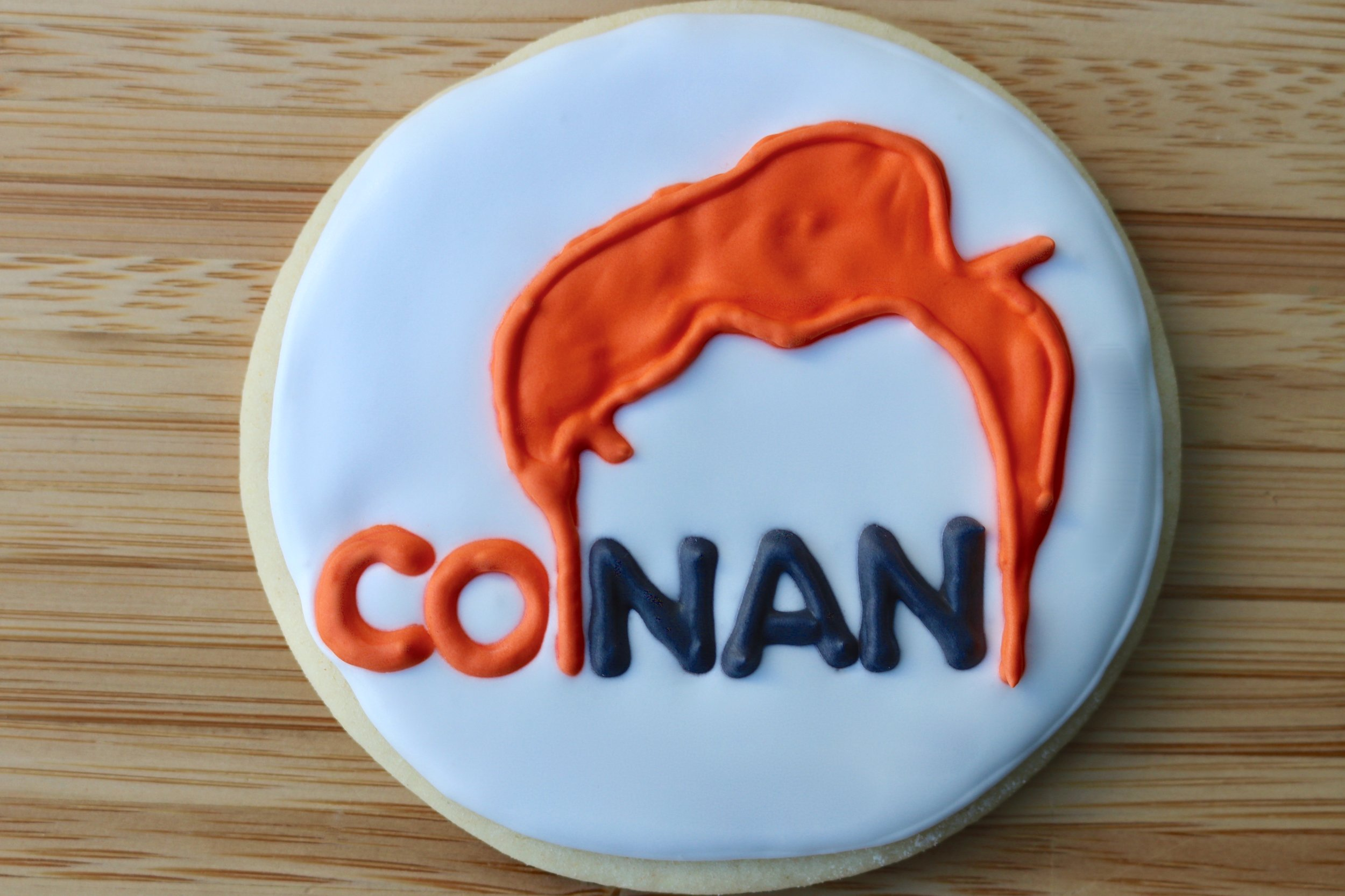 Conan O'Brien Cookies