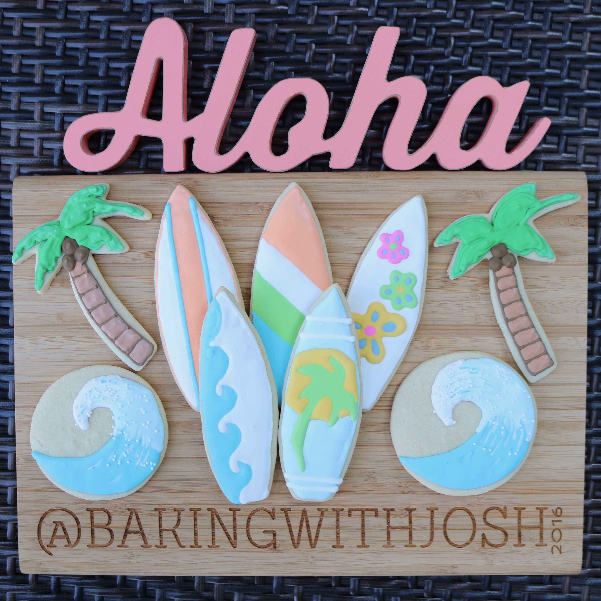 Hawaii Cookies