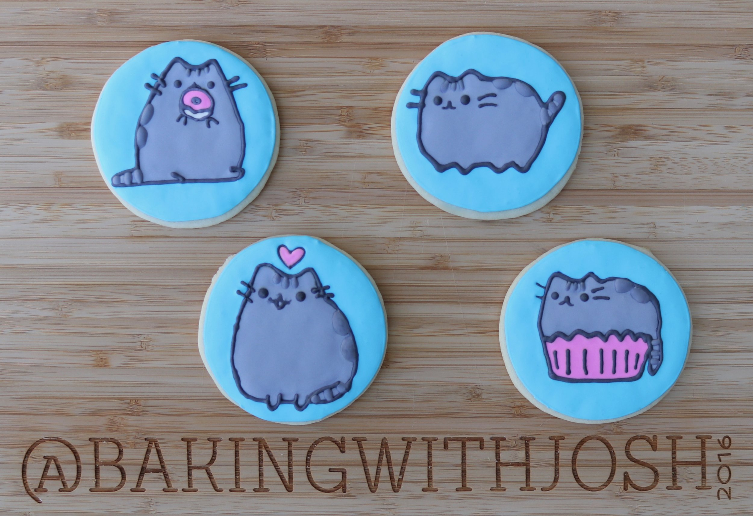 Pusheen Cat Cookies