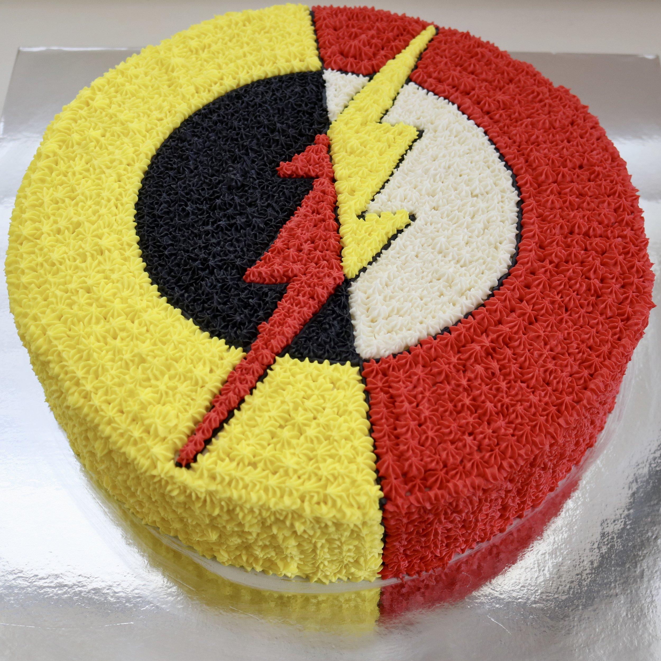 Flash/Reverse Flash Cake