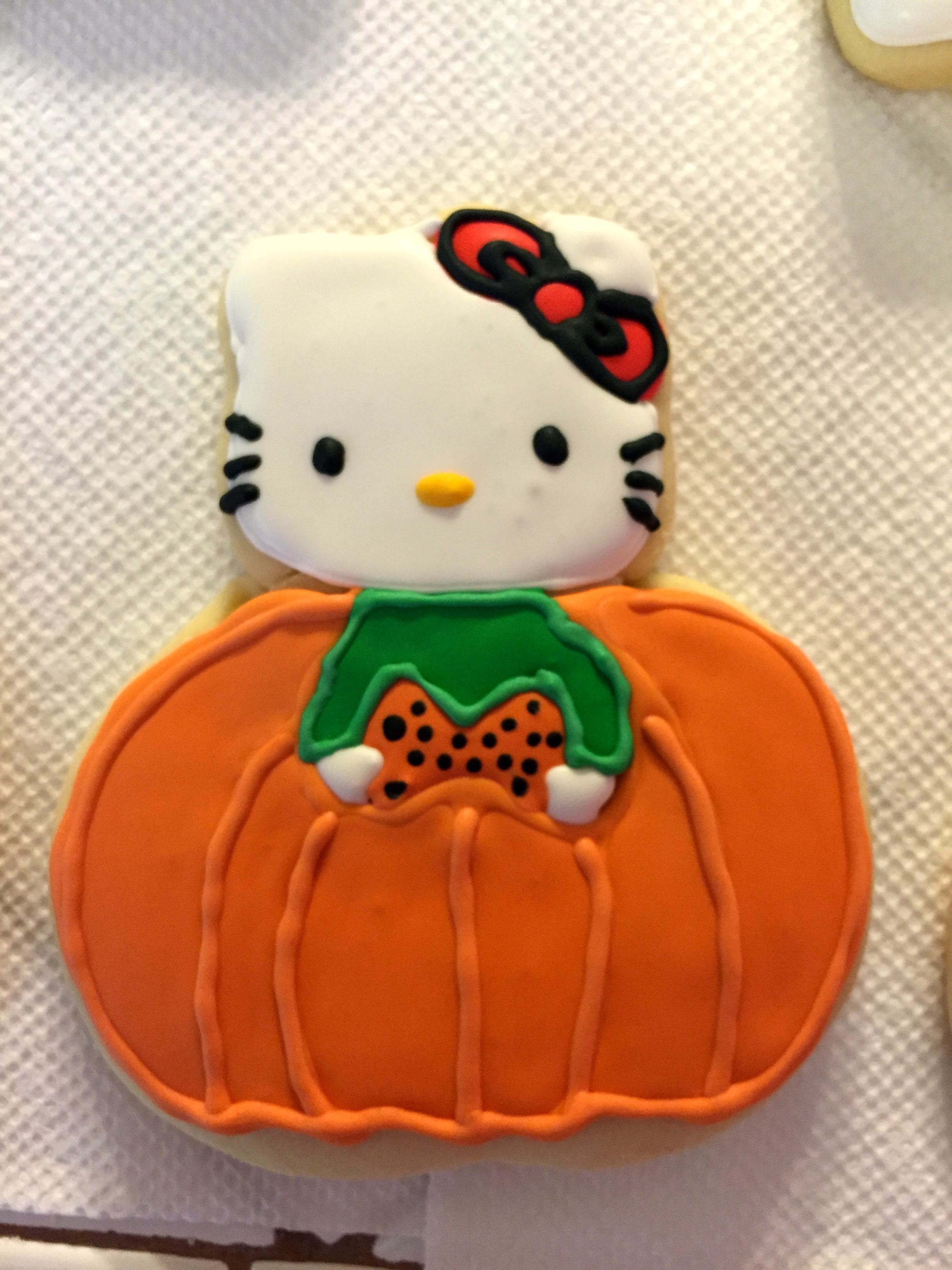 Hello Kitty Halloween Cookie
