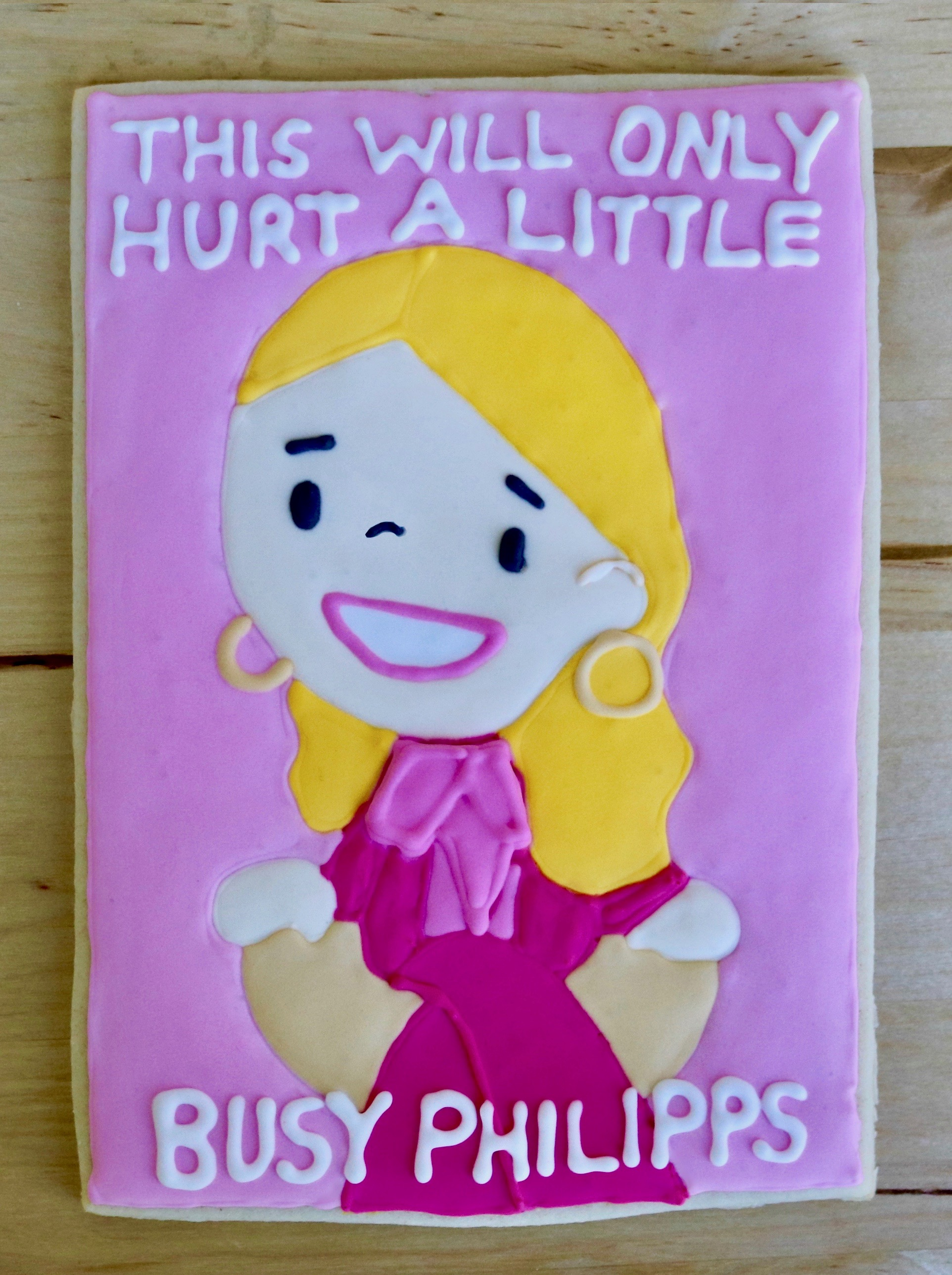 Busy Philipps Cookie