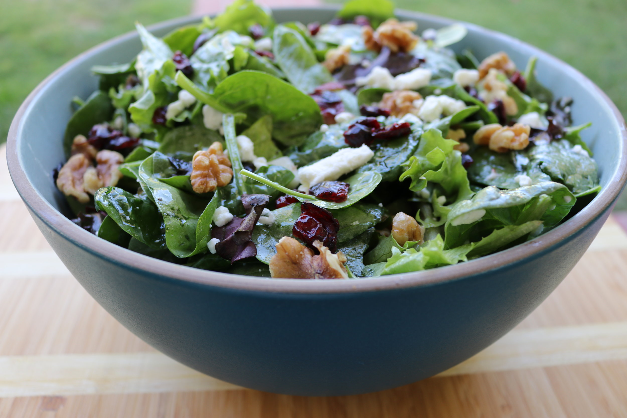 Cranberry Walnut Apple Salad