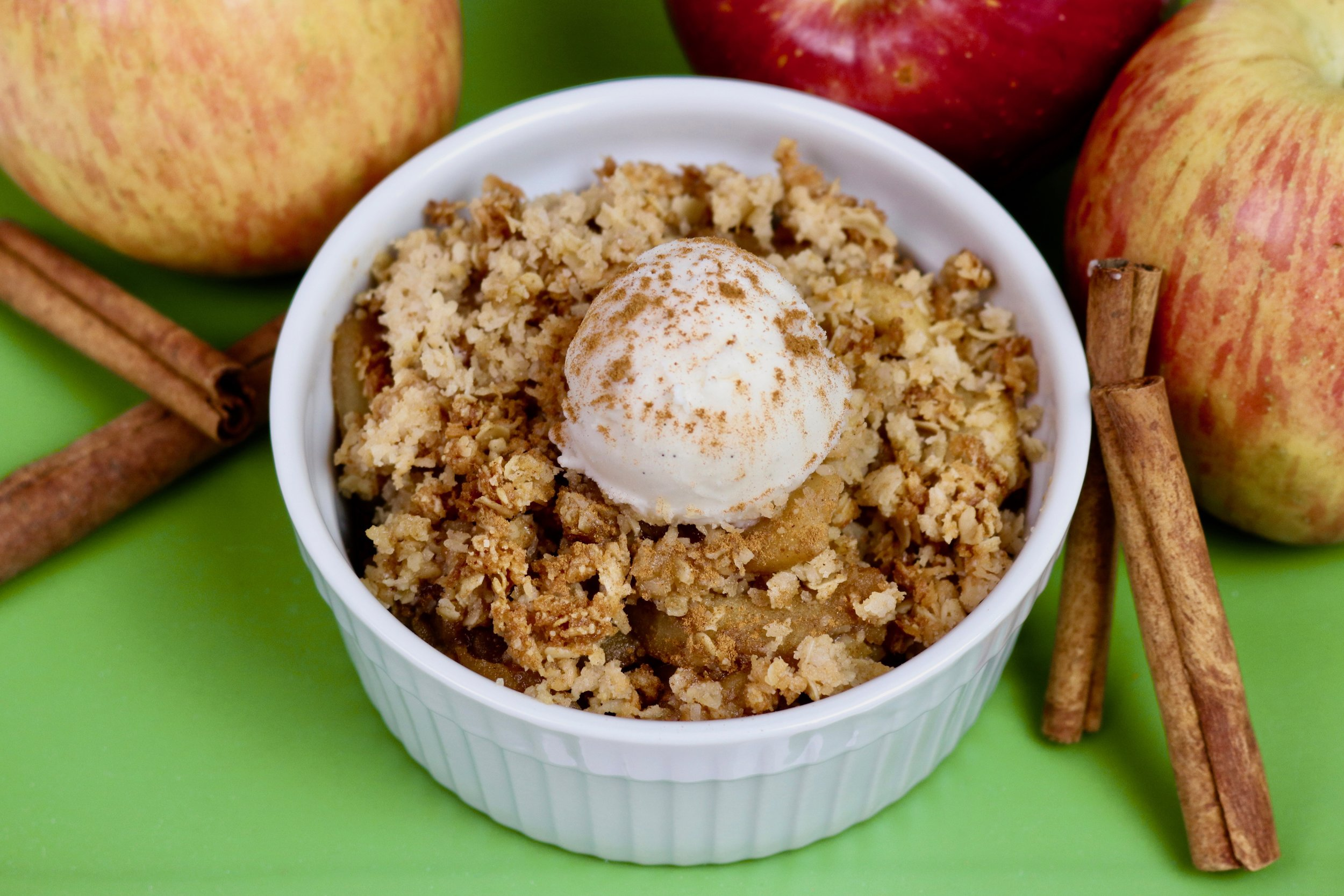 Gluten-Free Vegan Apple Crisp