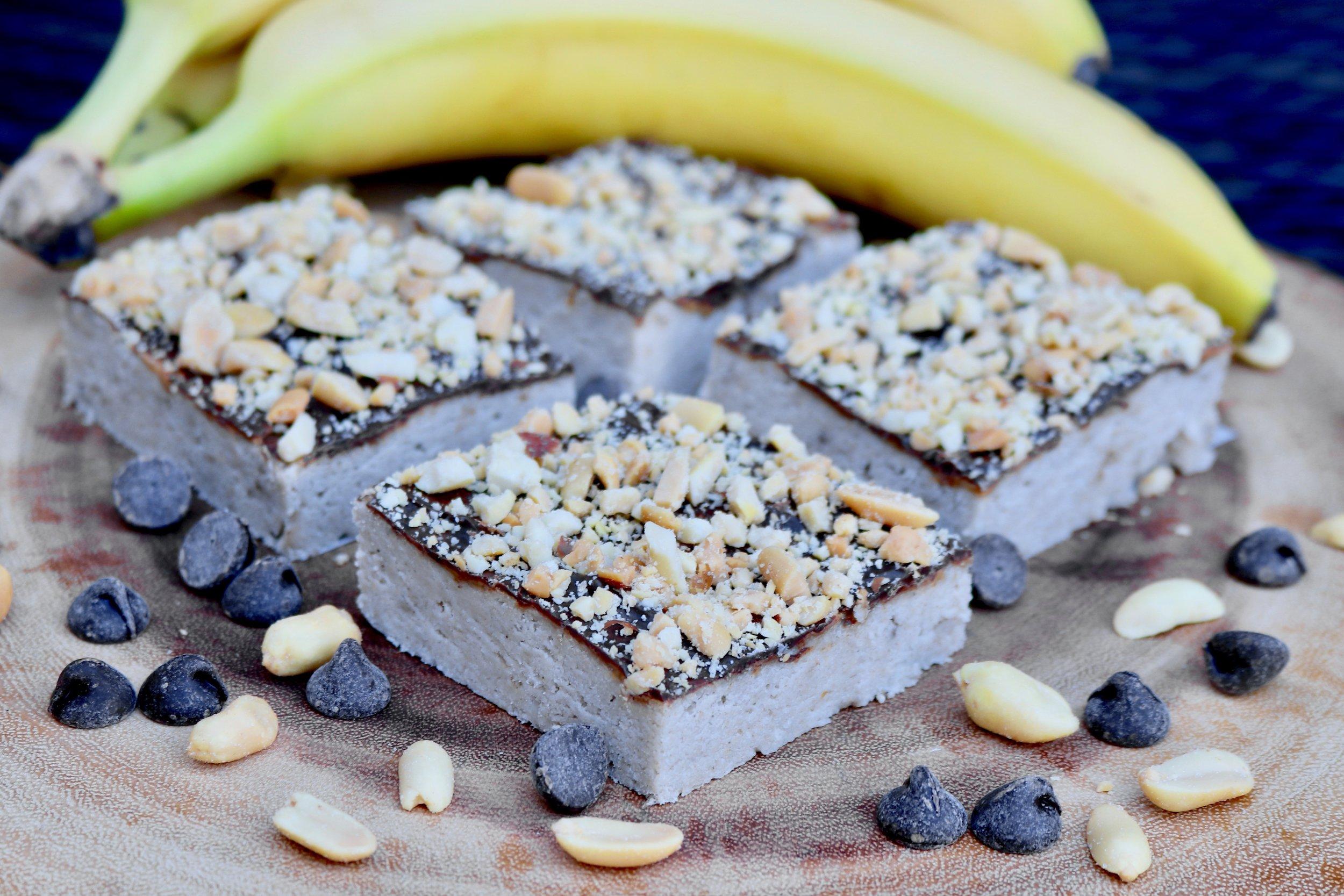 Gluten Free Vegan Banana Bread Brownies