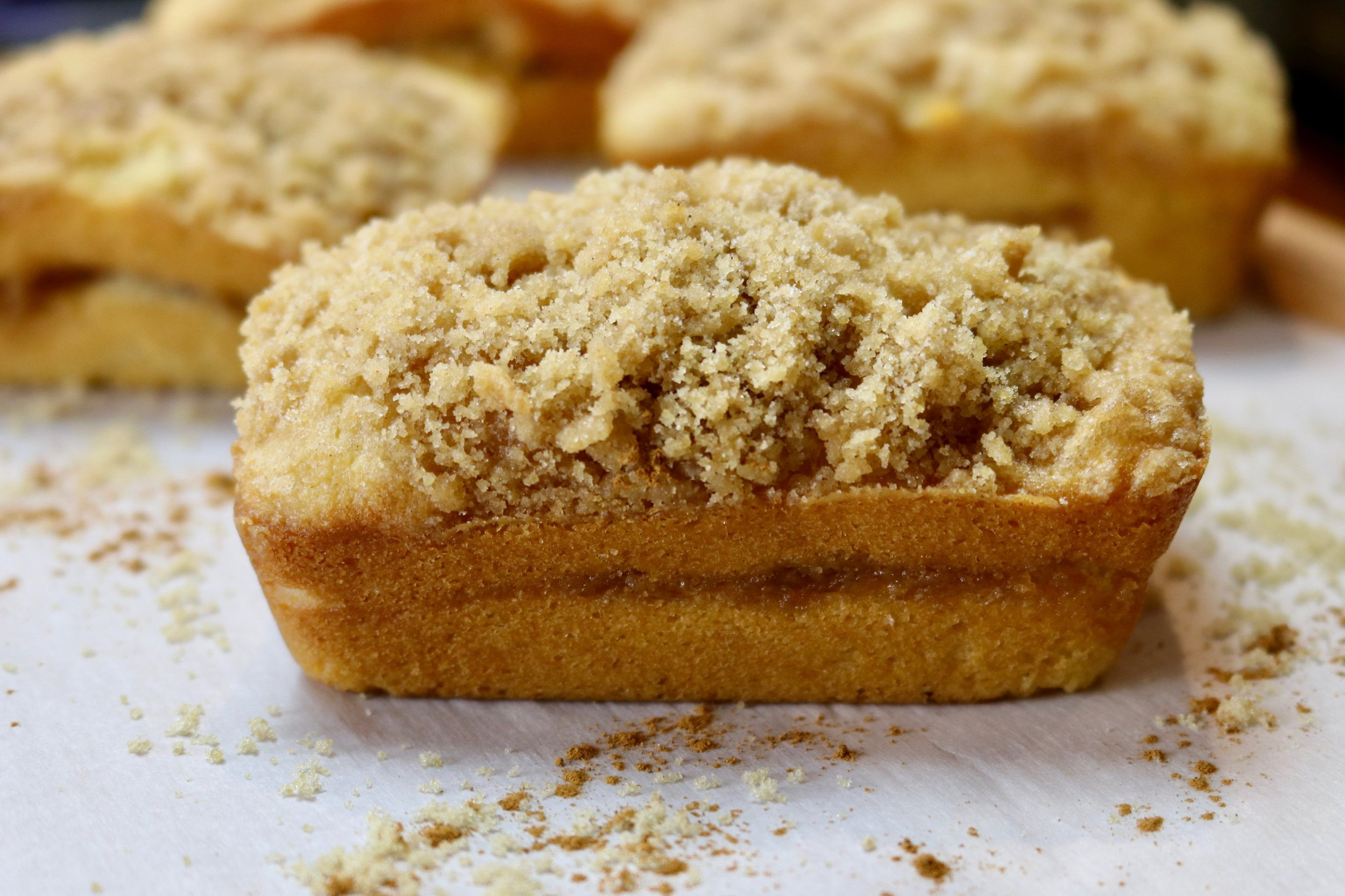 Sour Cream Coffee Cake Mini-Loaves