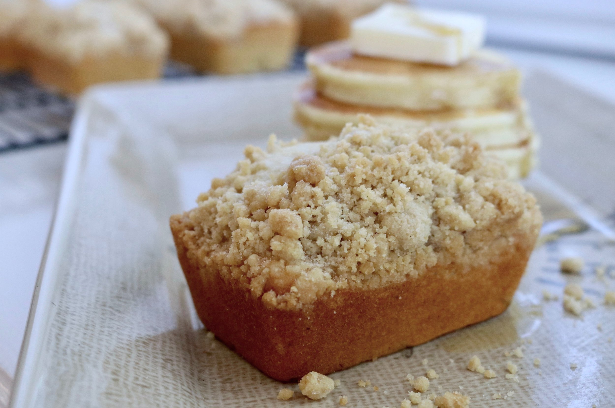 Pancake Bread Mini-Loaves