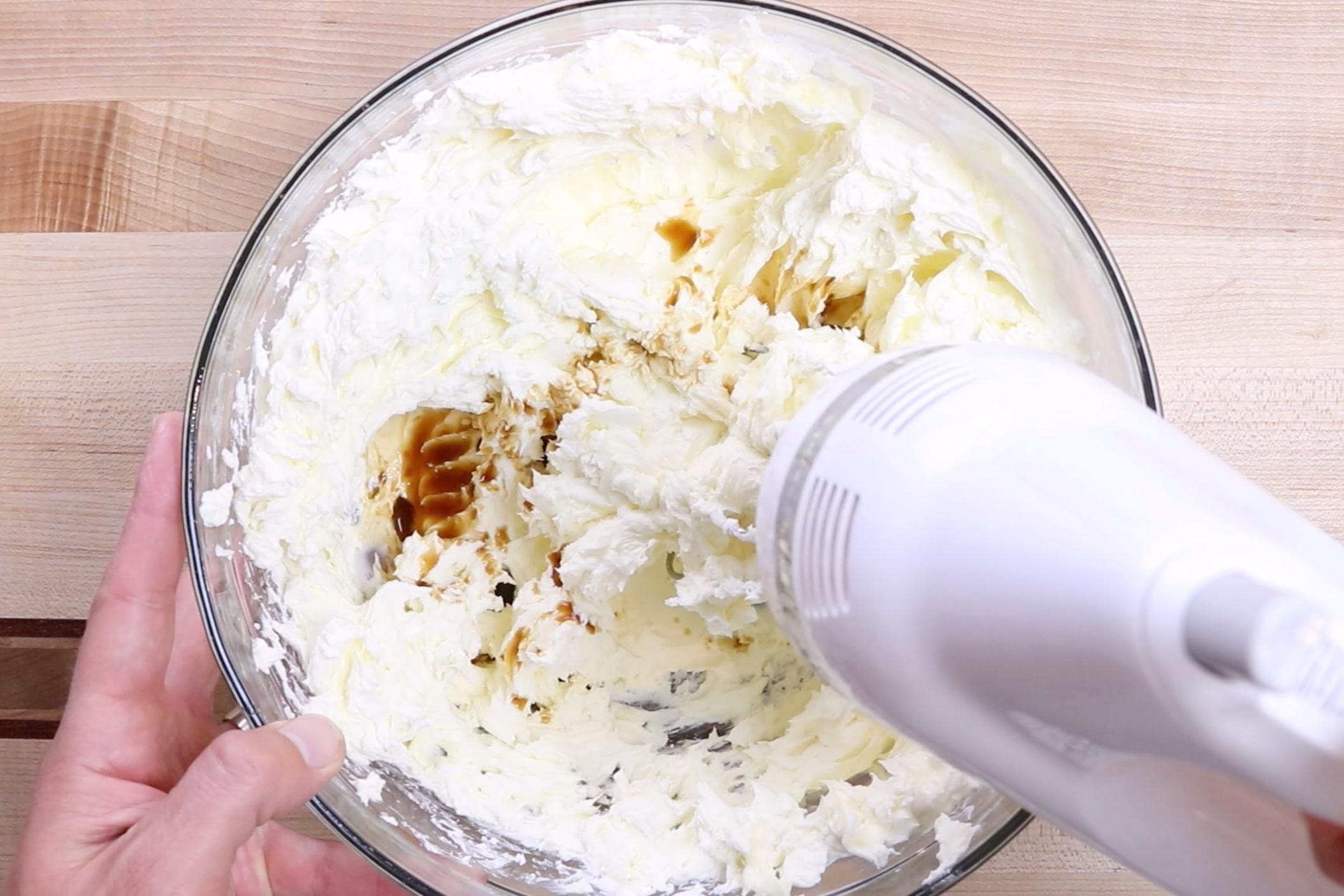 2.  Beat in vanilla. -