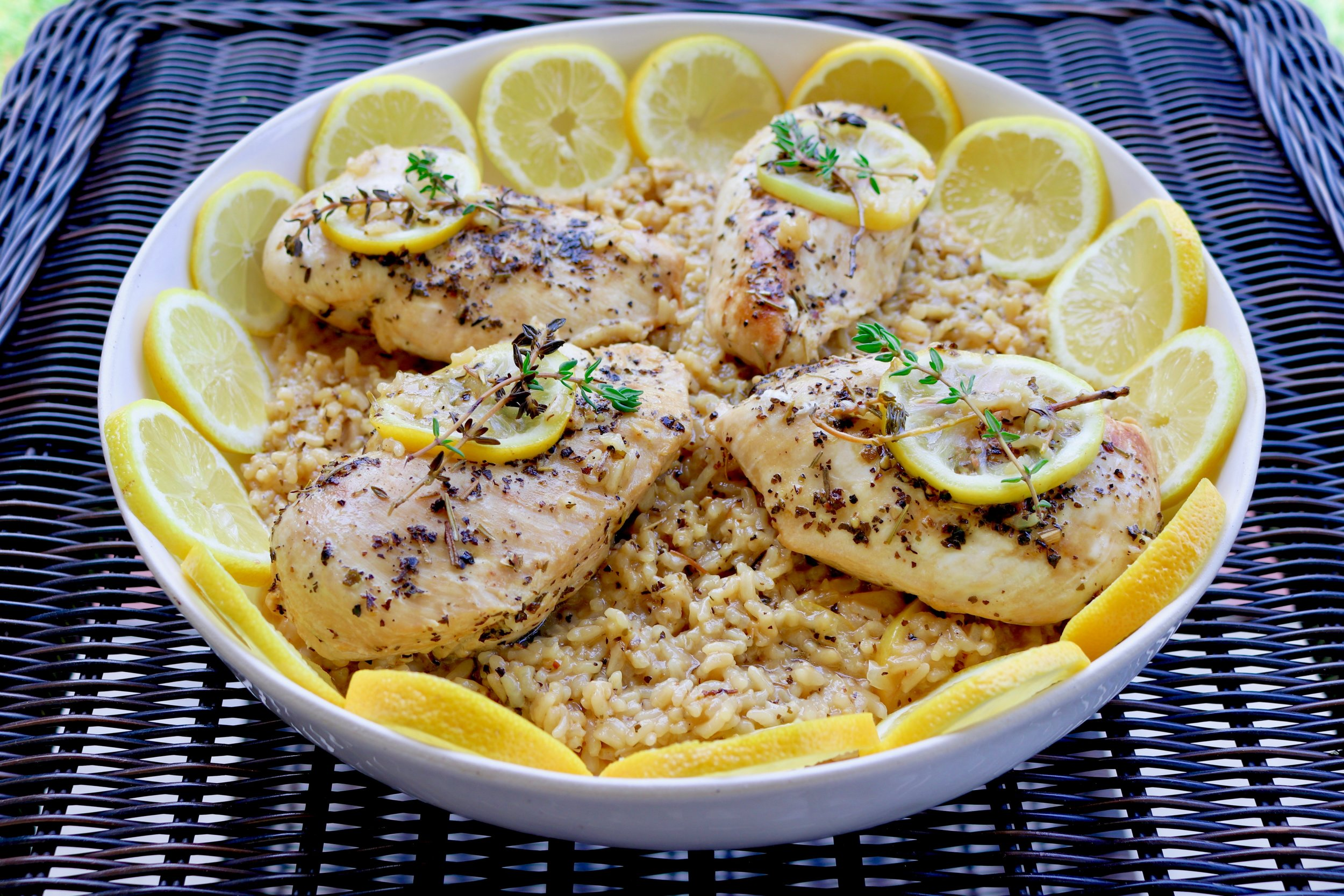 One-Pot Lemon Chicken and Rice