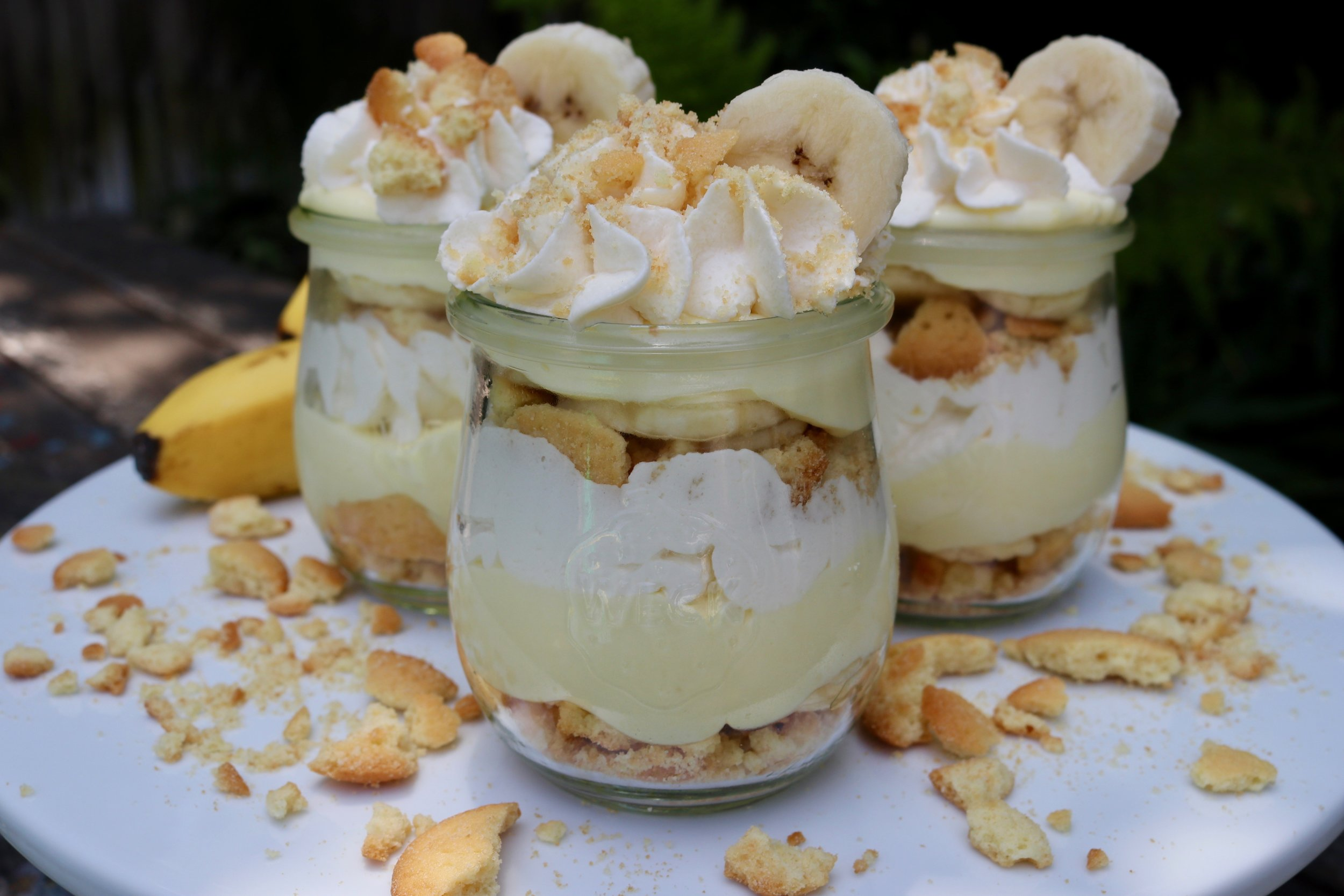 Easy Banana Cream Pudding