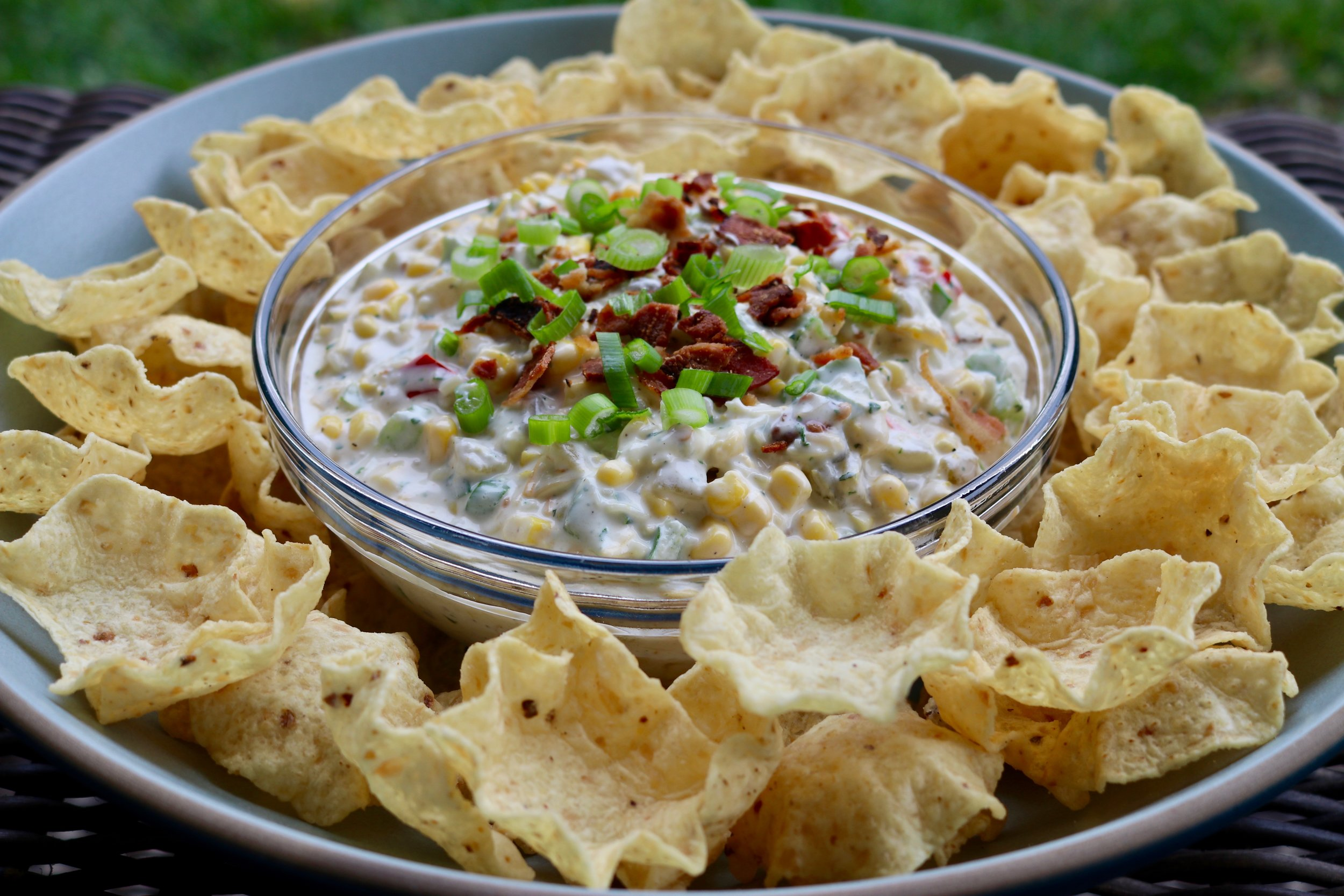Creamy Corn and Bacon Dip