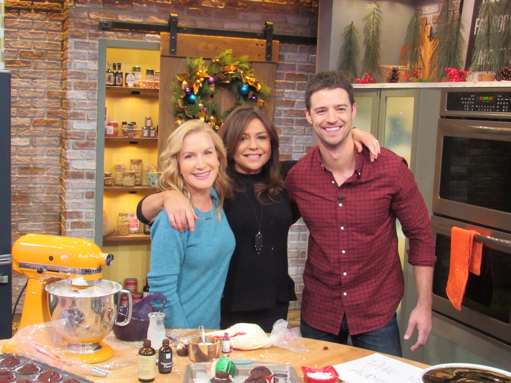"Making Holiday Treats with Rachael Ray - Josh & Ange share their simple holiday recipes on the ""Rachael Ray Show"""