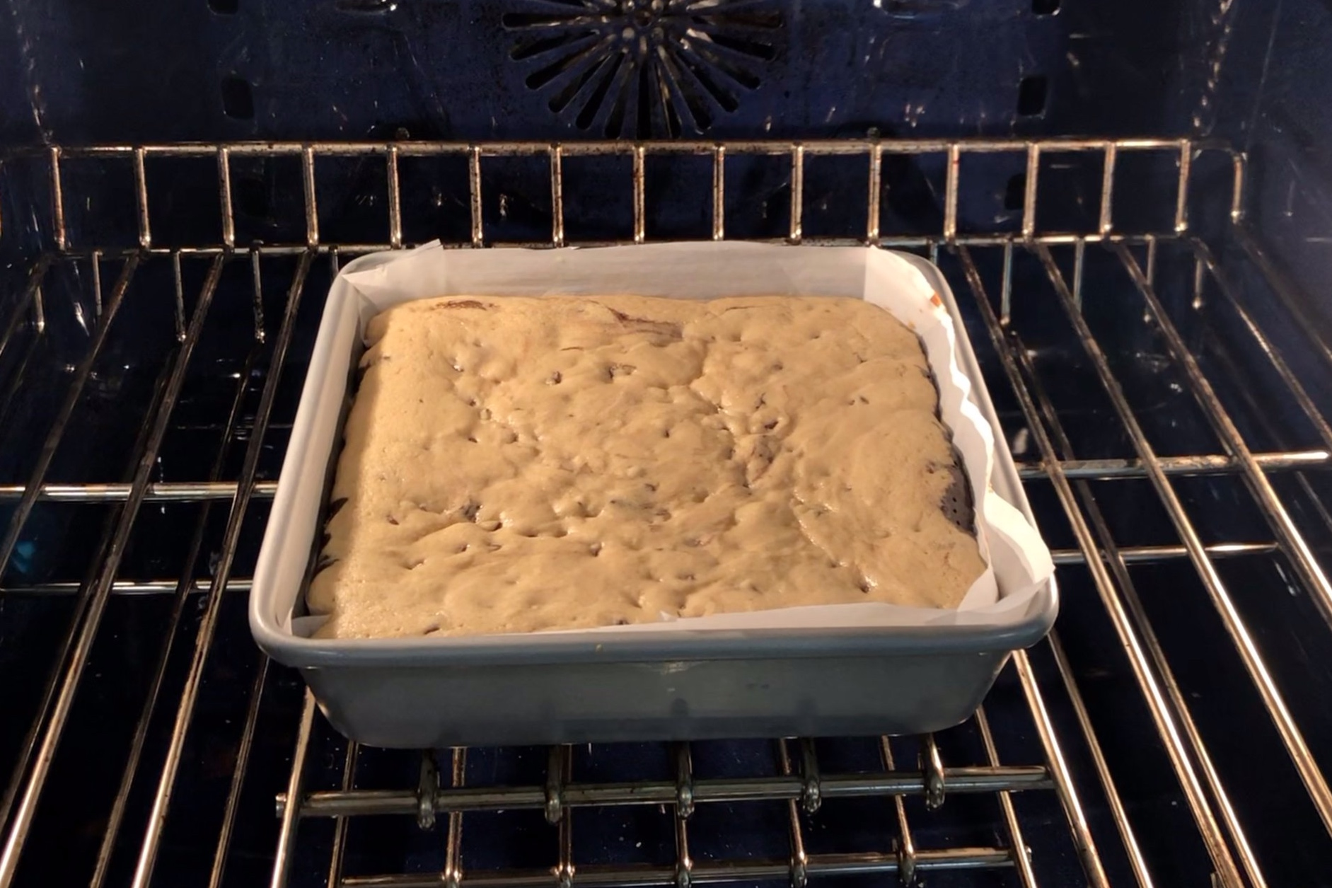 14. Bake for 30-35 minutes or until a toothpick inserted comes out clean. -