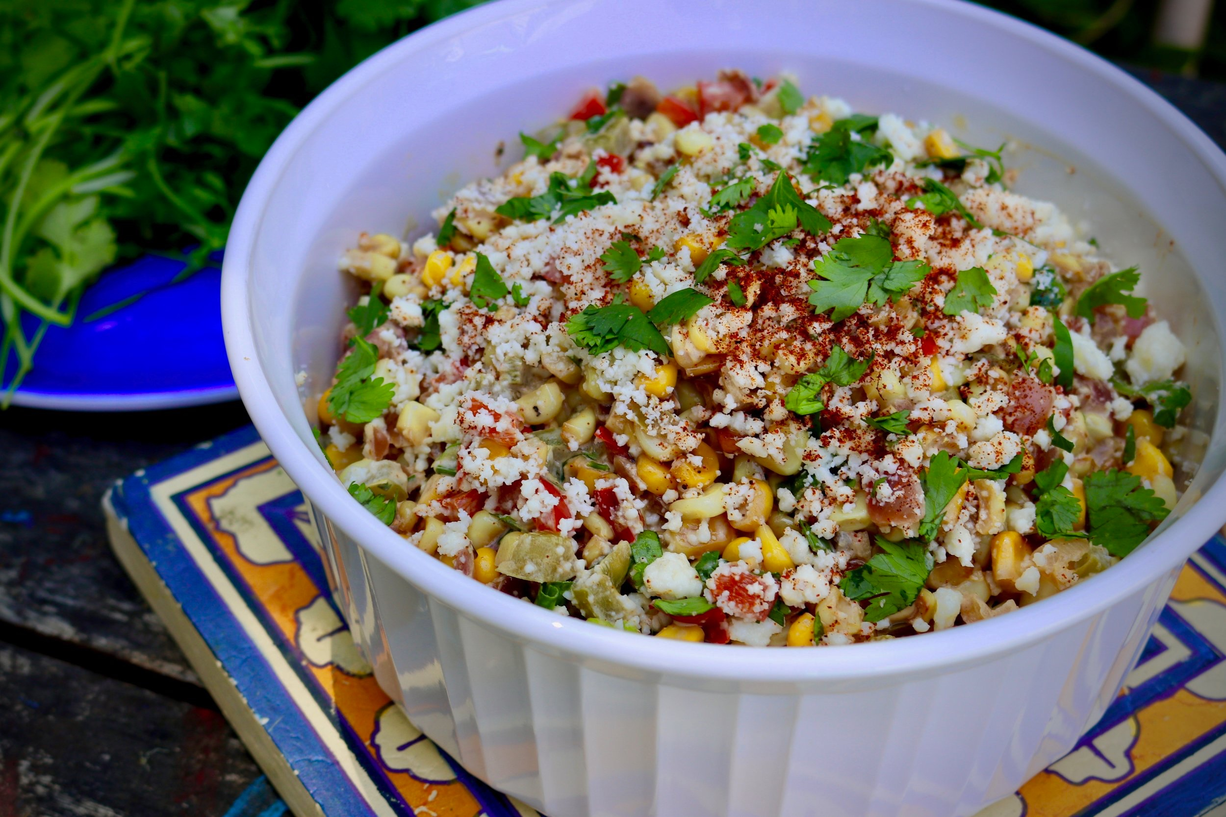 Southwest Street Corn Salad