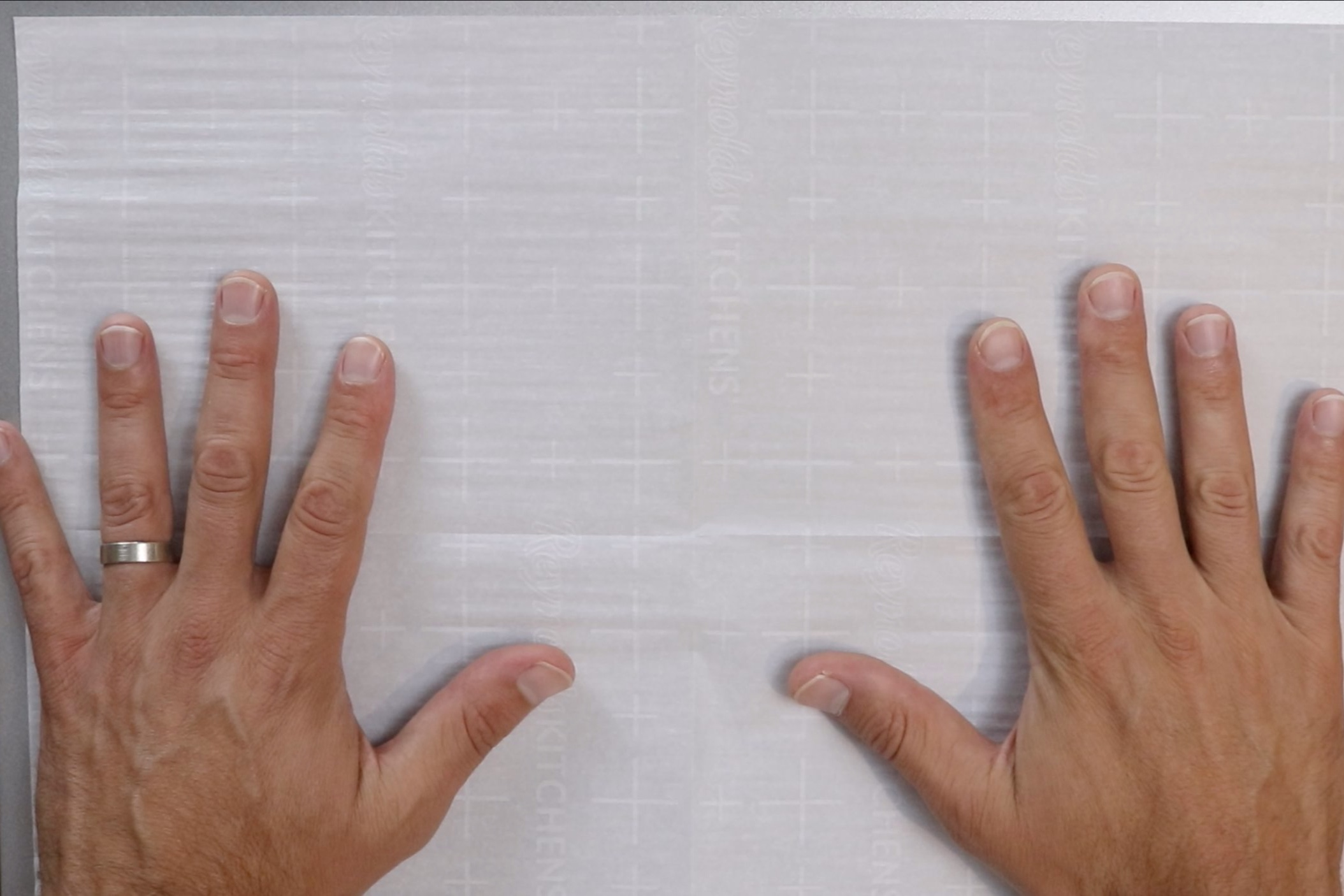 7. Preheat oven to 350 degrees and line a baking sheet with parchment paper. Make the glaze. -