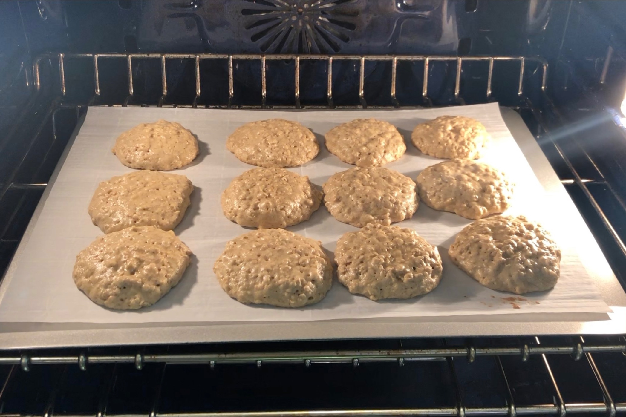 11. Bake for 10-12 minutes until cookies are golden brown on the bottom. -