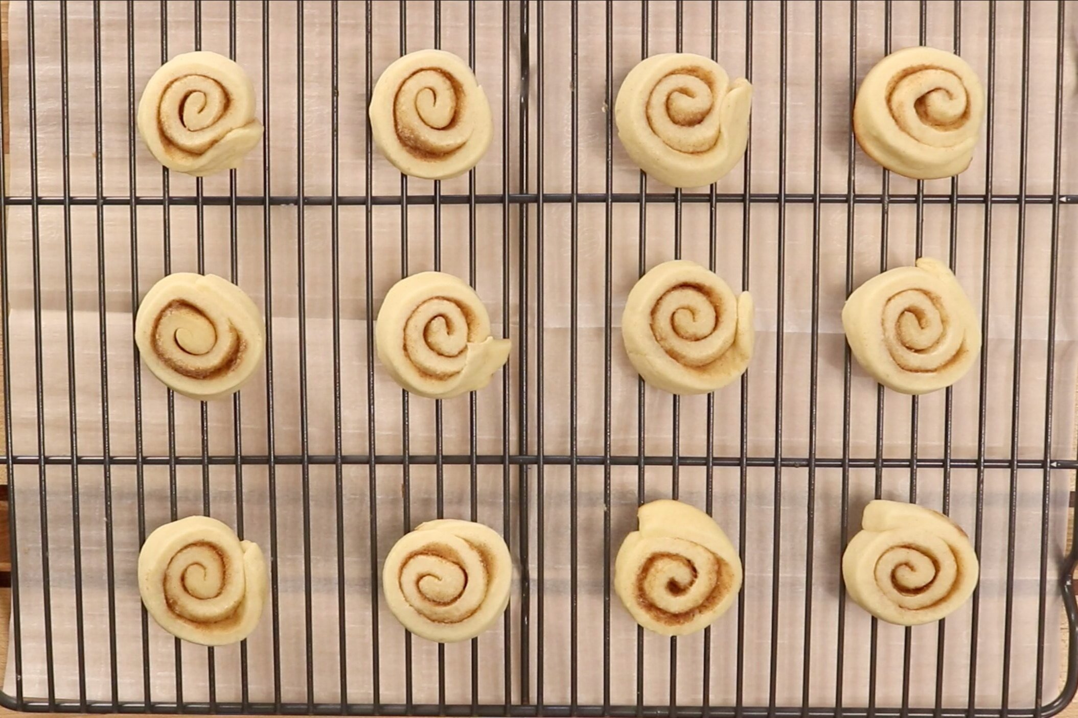 15. Remove from oven and cool on wire rack completely before icing. -