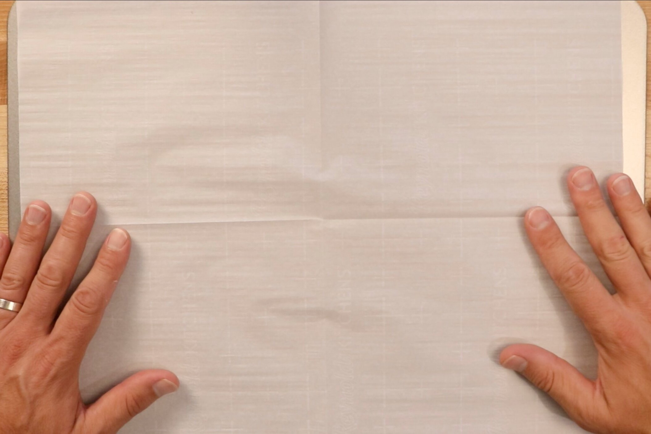 1. Preheat oven to 400 degrees and line a baking sheet with parchment paper. -