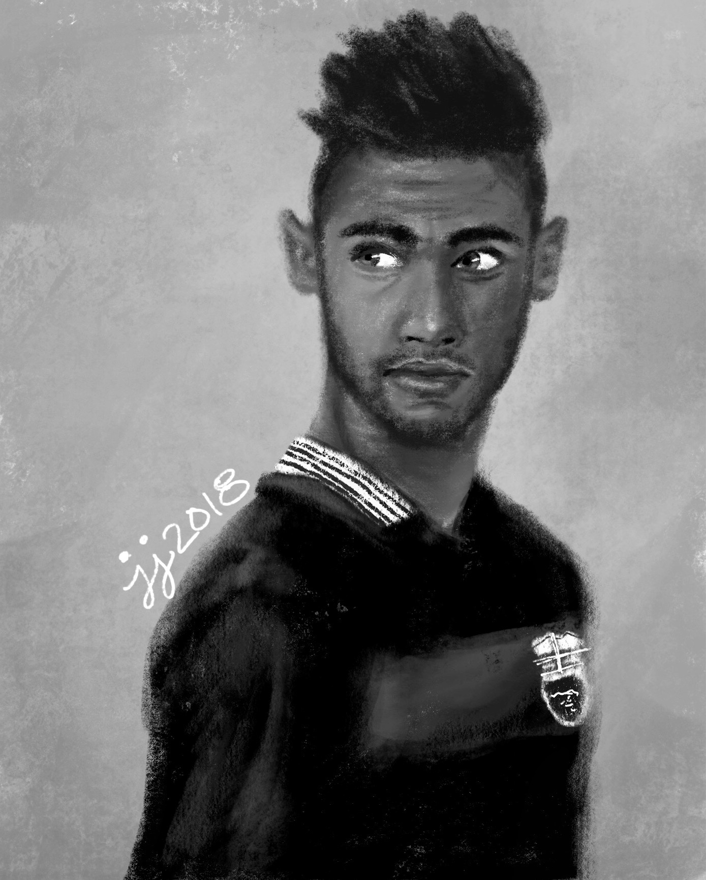 Copy of Brazilian Footballer Neymar Jr.