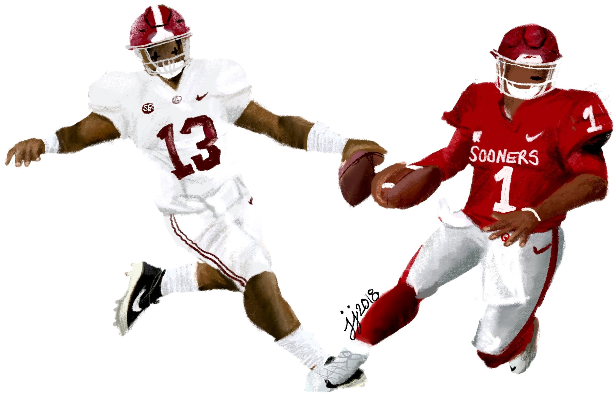 Copy of Heisman Hopefuls: Tua vs. Kyler