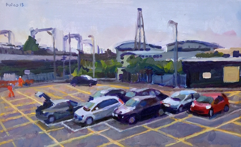 Car Park at Willesden Junction Station