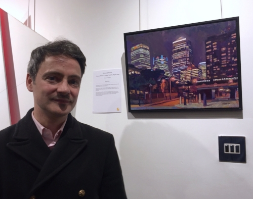 Displaying my artwork with ArtCan collective at Camden Image Gallery, London, November 2017
