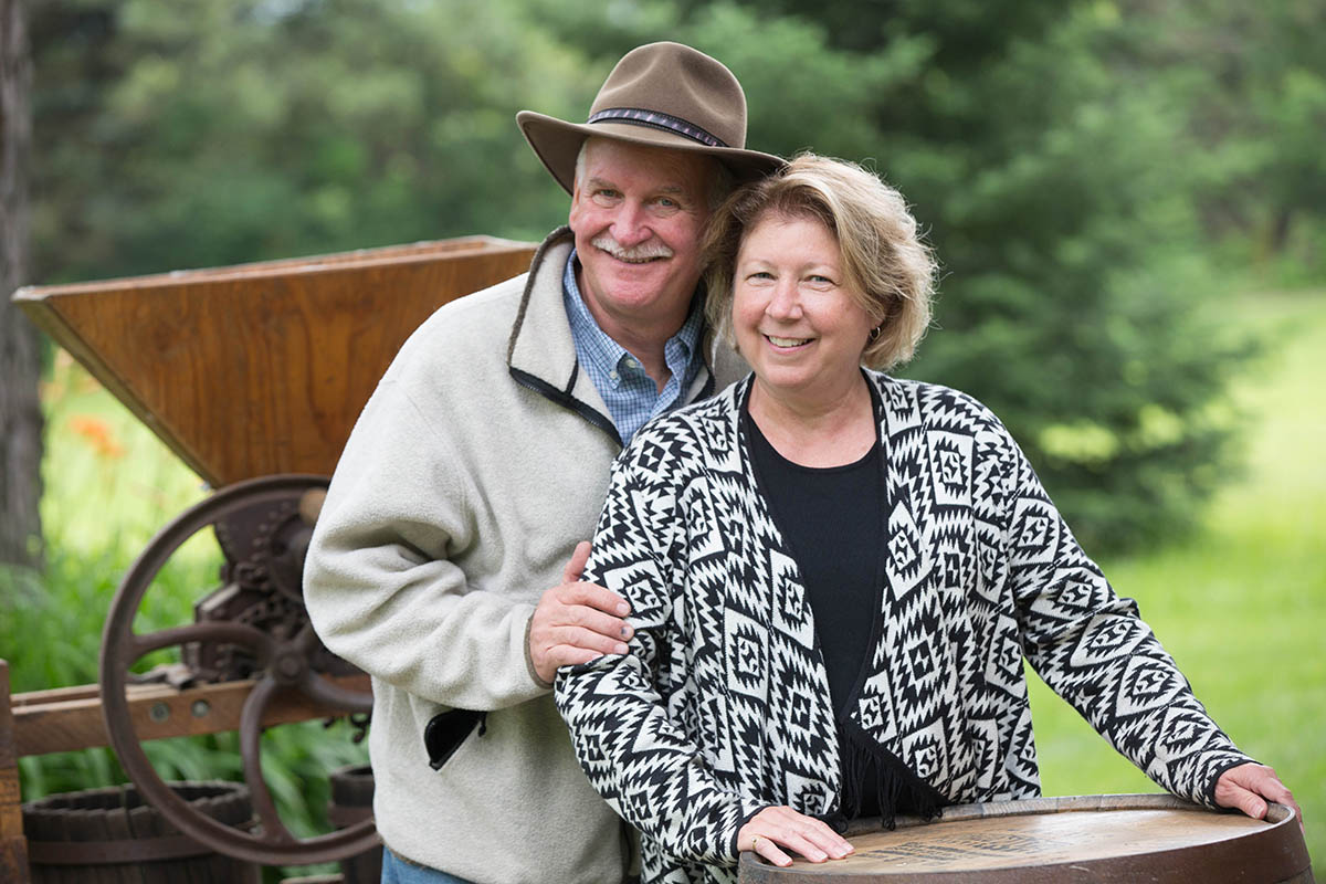 Dave and Deb Burgdorf  - In 2005, Dave and Deb Burgdorf turned their hobby of wine making into a business. Since then, their business as grown thanks to the help of their incredible team. Click here to learn more about Dave and Deb's story and how they started Burgdorf's Winery.