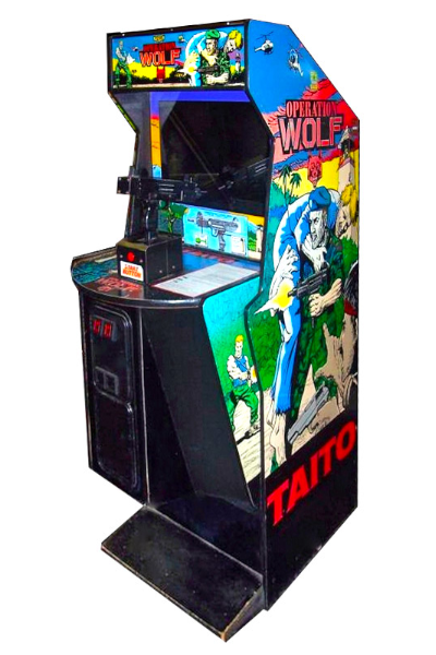Operation Wolf 1987 Taito