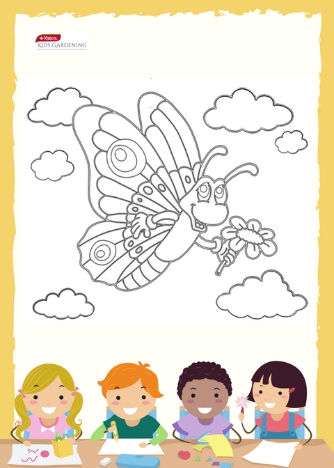 Free Colouring In Sheet for Kids