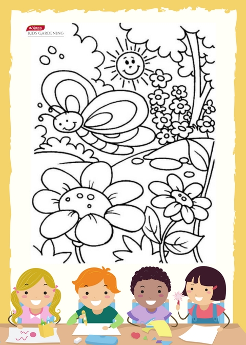 Free Colouring In Sheet
