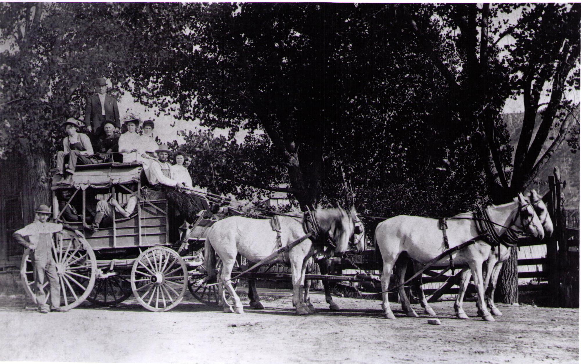 Stagecoach Circa 1900