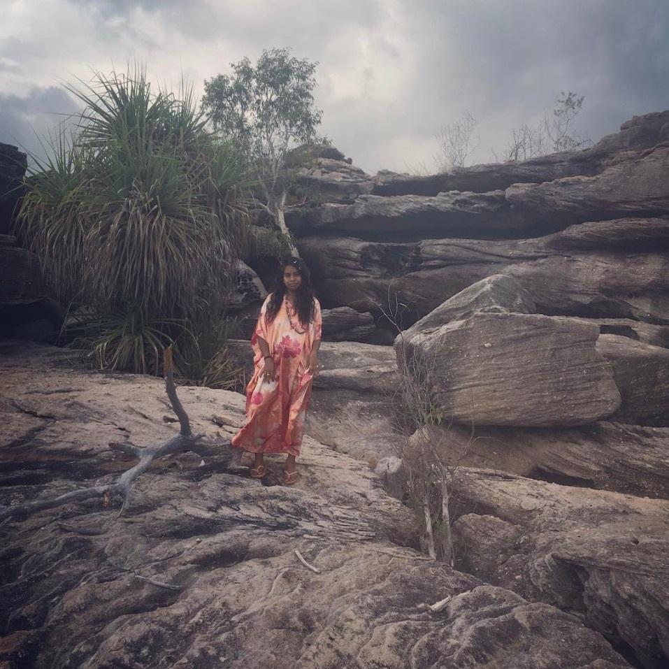 Emily Wurramara - In the elements.