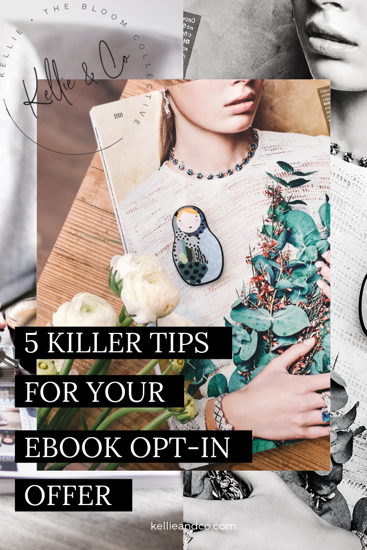 5 killer tips for ebook kellieandco the bloom collective