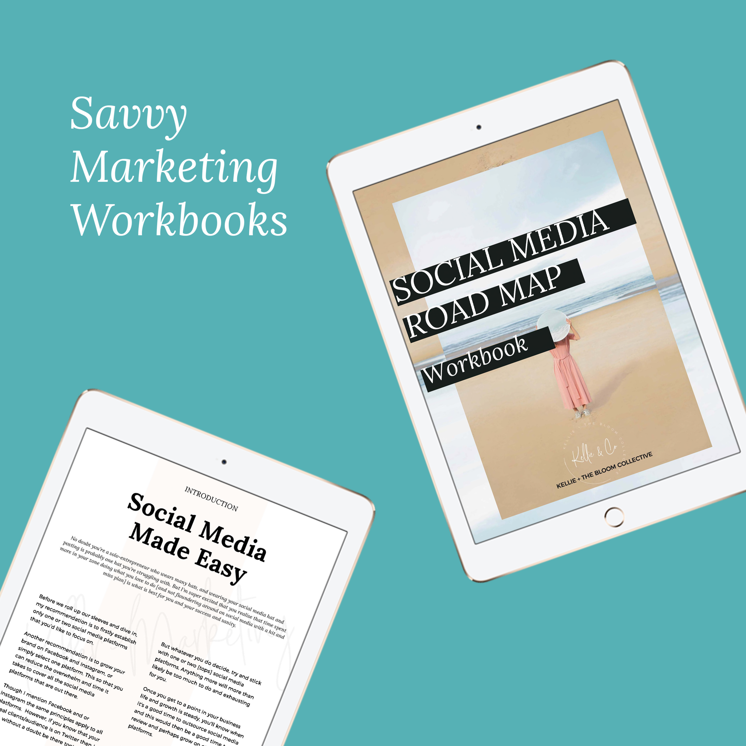 savvy marketing kellieandco the bloom collective workbooks