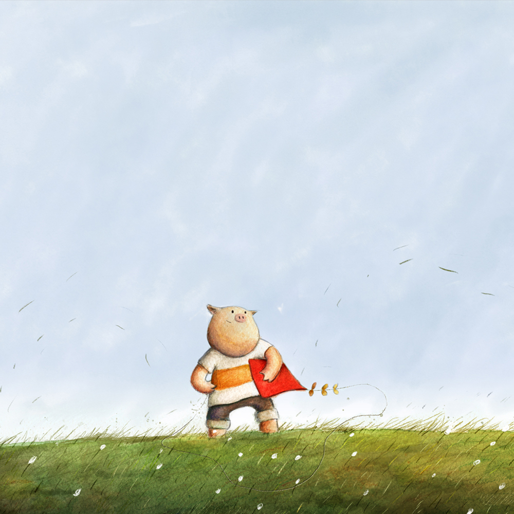 Book Project - HArold's Windy Day