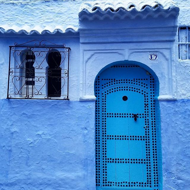 well i waited until getting home to hop on the bandwagon... but here it is, the ubiquitous instagram classic: moroccan doors. #morocco #chefchaouen #asilah #doors