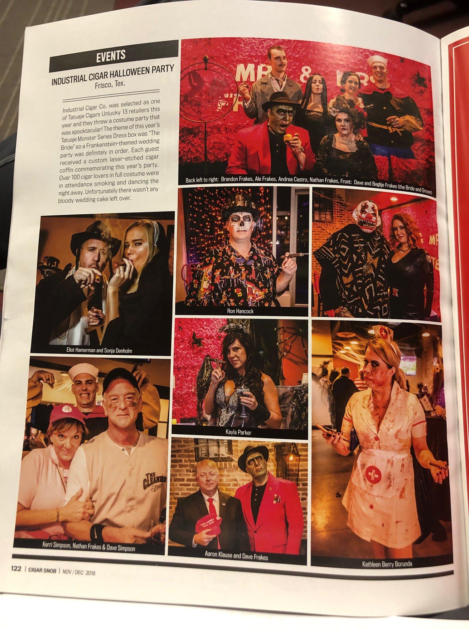 ICC in Cigar Snob Mag