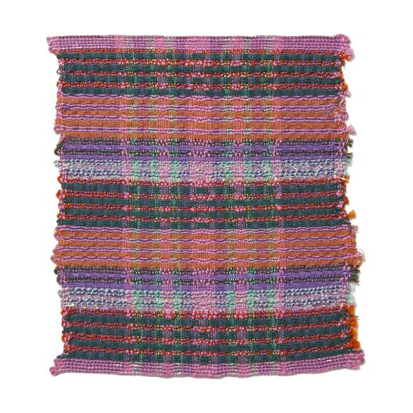 Mixed Yarns - Cotton, Lurex, Wool, Acrylic 8 x 9.5 in 2006