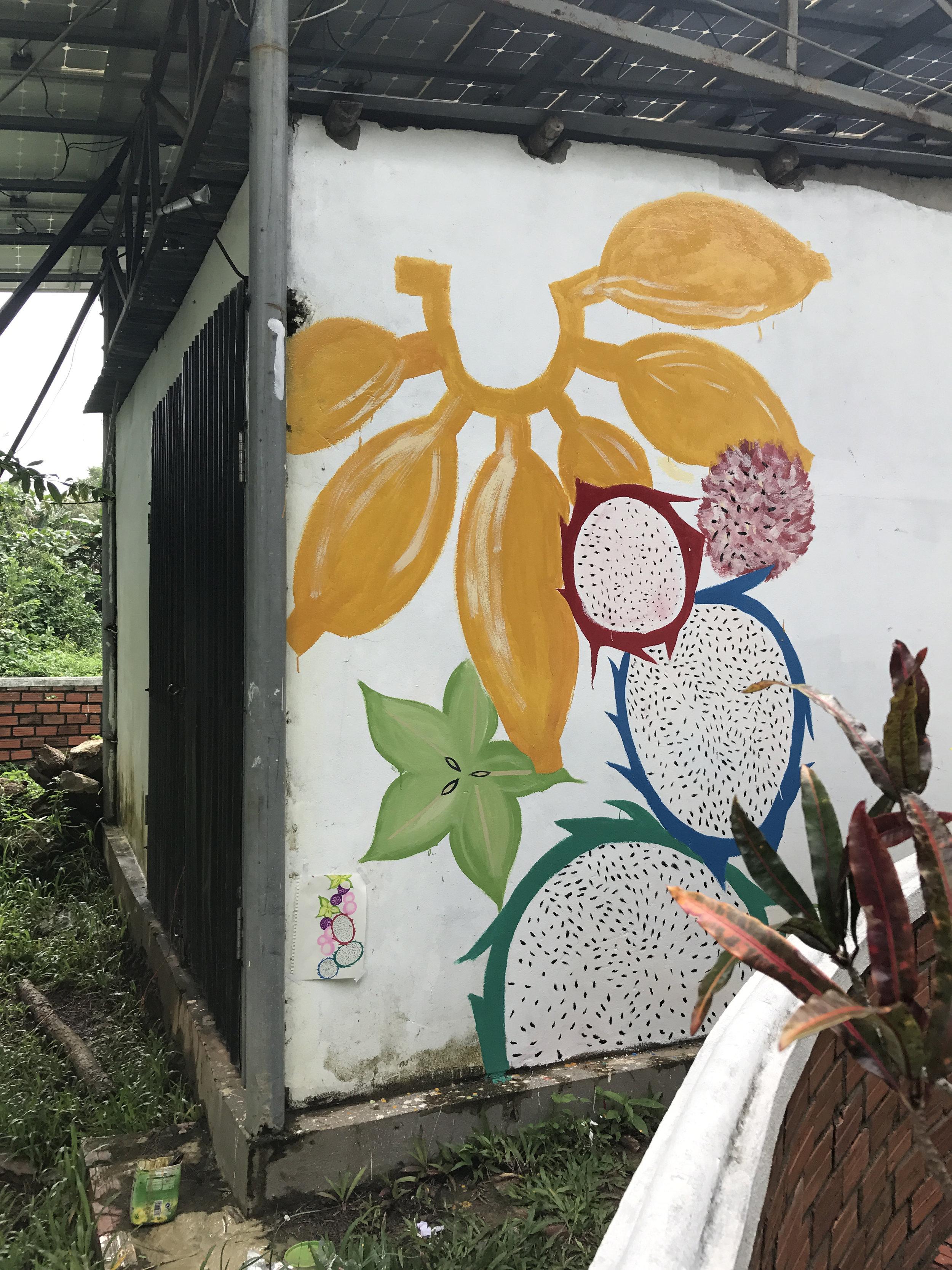Mural in Phu Quoc Island, Vietnam 2017