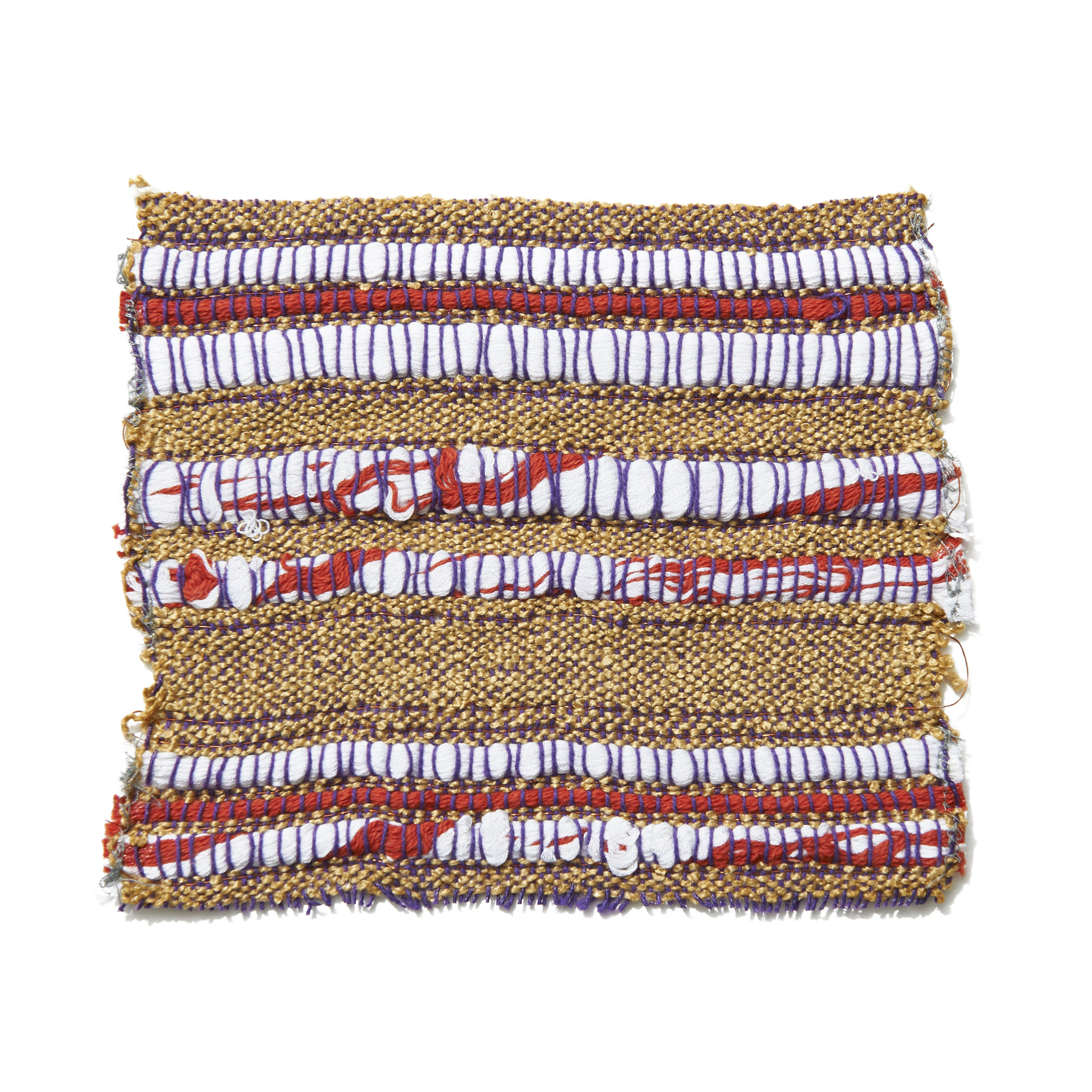 Mixed Yarns and Copper Wire 7 x 6.5 in 2006